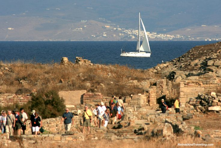 Discover history when you visit the Greek islands!