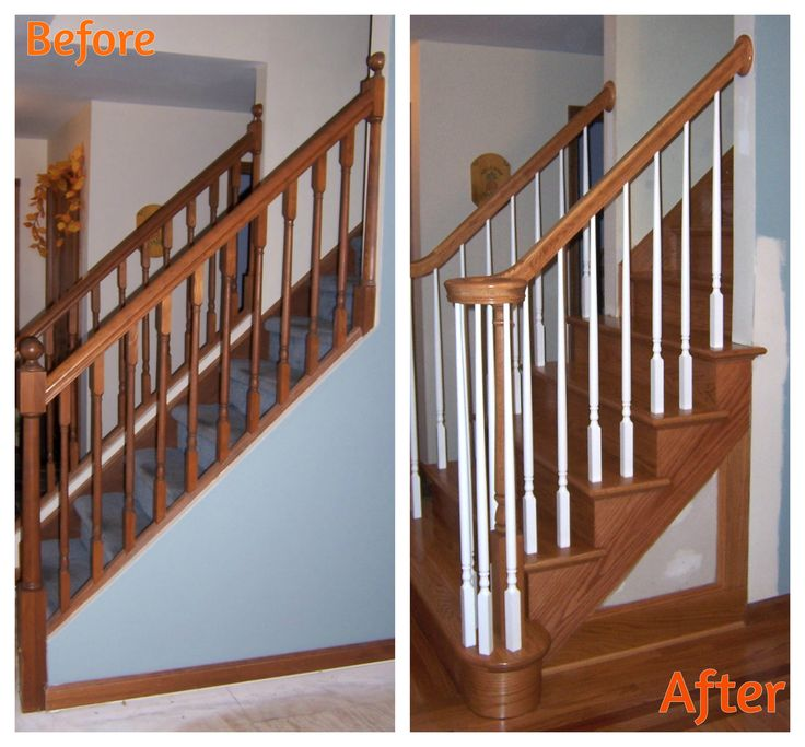 Best Solid Oak Stair With Double Round Starting Step And 400 x 300
