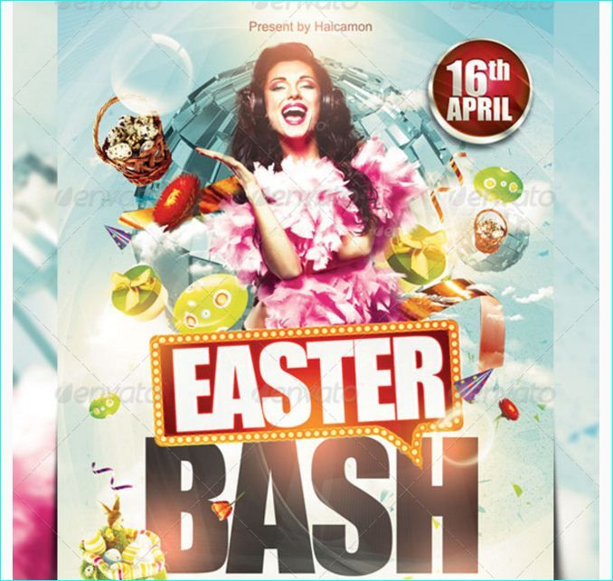 101 best Easter Party Flyer Template images on Pinterest Flyer - easter flyer template