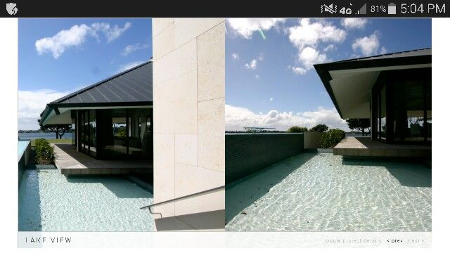 Water , house floating