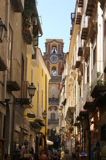 The bell tower, Sorrento, Italy