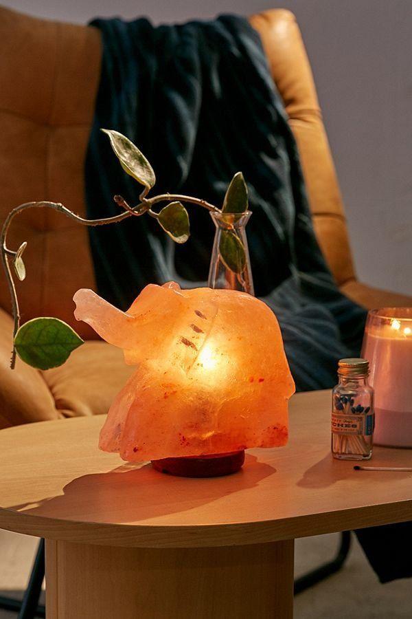 Elephant Himalayan Salt Lamp Himalayan Salt Lamp Salt Lamp Glass Bulbs