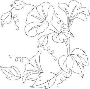 Quilters Flower 29 Larger (HDFQ29C) Embroidery Design by Anita Goodesign