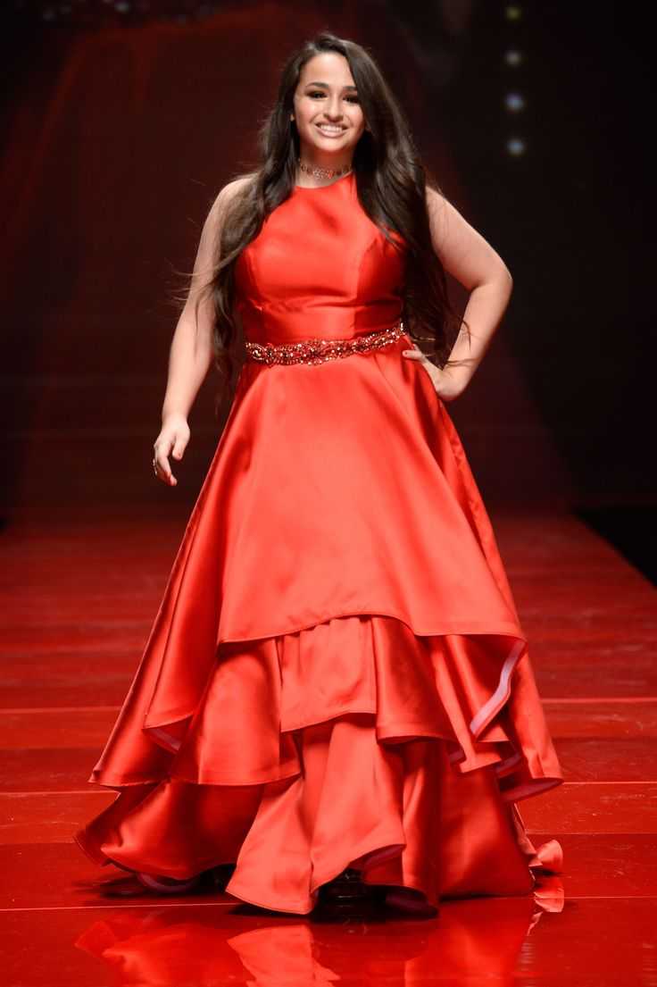 Jazz Jennings walks the runway at the American Heart Association's Go Red For Women Red Dress Collection 2017 presented by Macy's at Fashion Week in New York City.