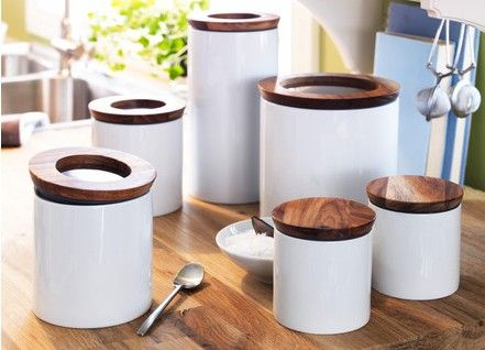 images about canisters on   jars, jonathan adler,Modern Kitchen Canisters,Kitchen ideas