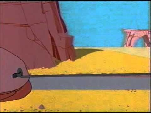 Road Runner & Wile E Coyote - 43 - Chariots of Fur A lonely road