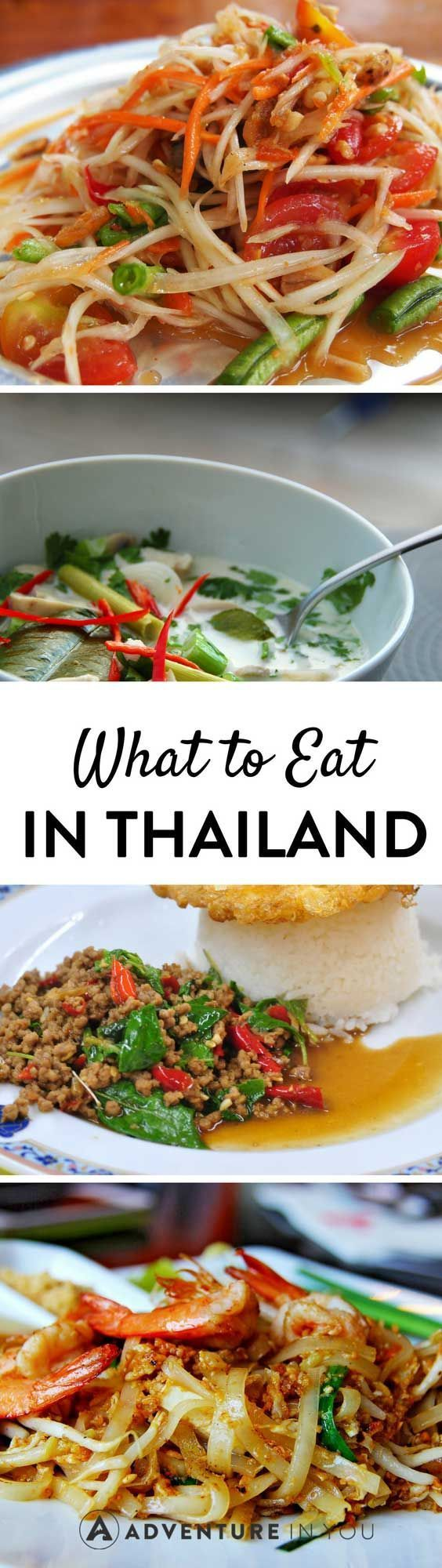Check out our food guide for what to eat in Thailand. From Pad Thai's, Som Tum's to the most exotic mouth watering dishes in Thailand.
