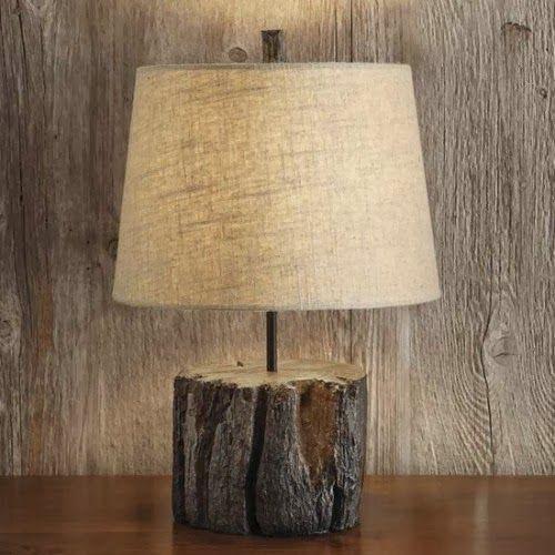 mobiliario jardim jumbo:1000 ideias sobre Luminária De Tronco no Pinterest