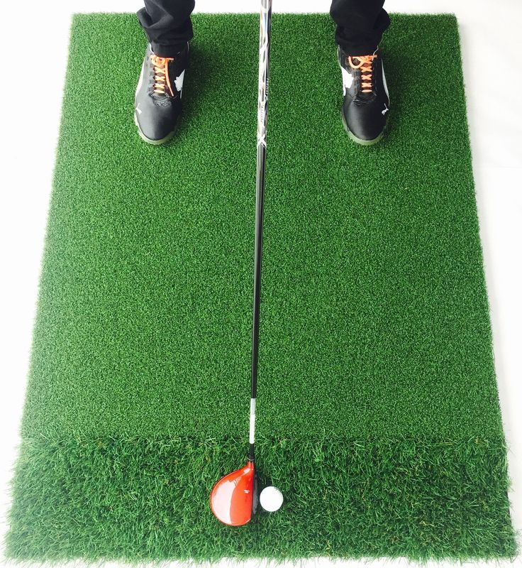 StrikeDown Dual-Turf Tour Golf Mat