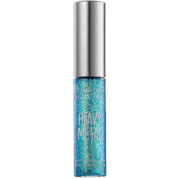 Urban Decay Heavy Metal Glitter Eyeliner - Colour Amp (26 AUD) ❤ liked on Polyvore featuring beauty products, makeup, eye makeup, eyeliner, eyes, urban decay eye makeup, urban decay eye liner, urban decay and urban decay eyeliner