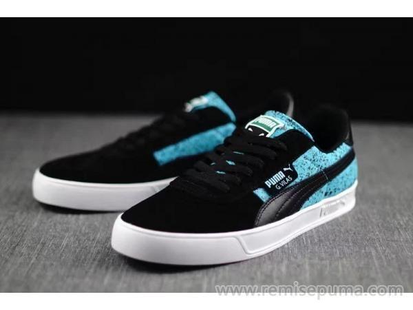 Chaussures Puma Femme Puma G.Vilas Suede Winterized bleu noir couleur est la plus attrayante chaussures femme.