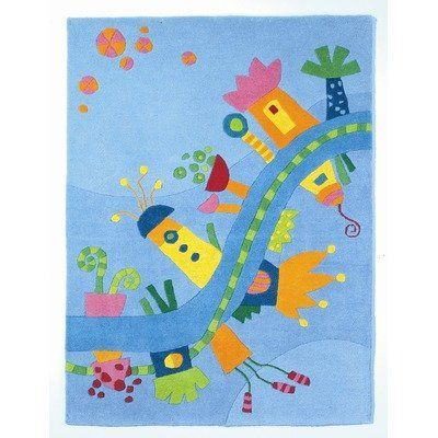 """Dreamland Kids Rug Size: 3'5"""" x 4'9"""" by Haba. $199.49. 2936 Size: 3'5"""" x 4'9"""" Features: -Material: 100pct New Zealand wool.-Origin: China.-With textile cloth backing.-Beautiful rug to lull you off to dreamland.-Very heavy, comfortable sitting surface.-Easily vacuumed. Color/Finish: -Nicely colored for a child's room and soft and easy to the feet. Assembly Instructions: -No assembly required. Dimensions: -Pile height: 1.5''."""