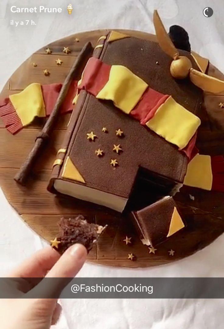 Pin Von Sara Tamm Auf Schone Kuchen Harry Potter Kuchen Harry