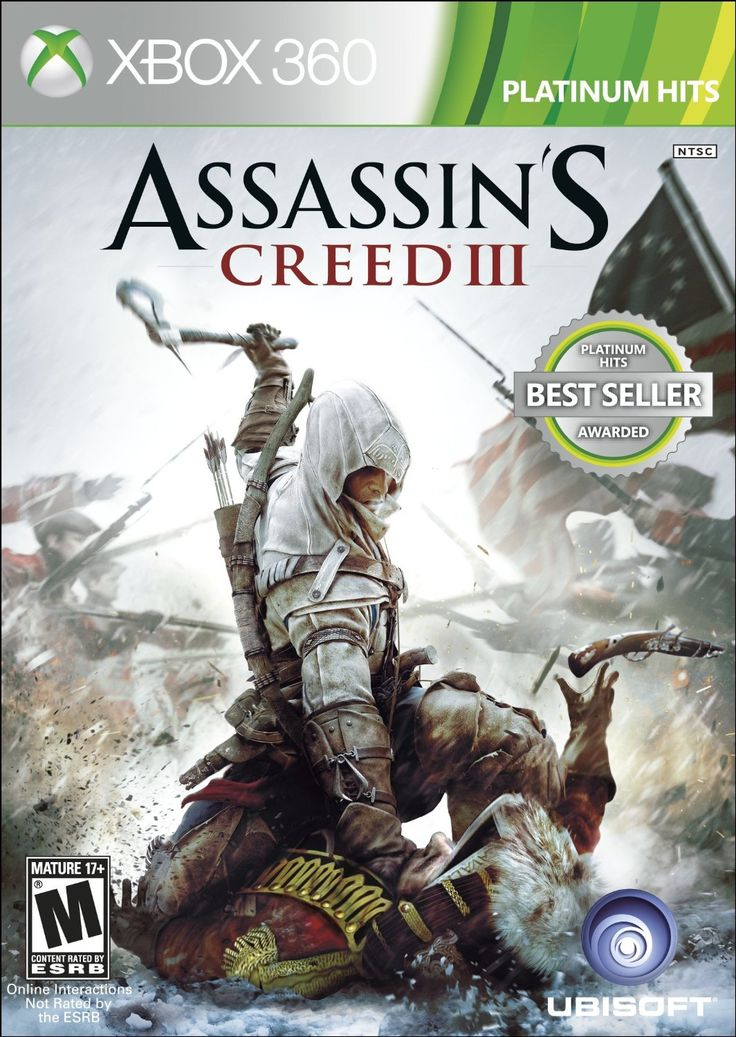 Amazon.com: Assassin's Creed III: Xbox 360: Video Games