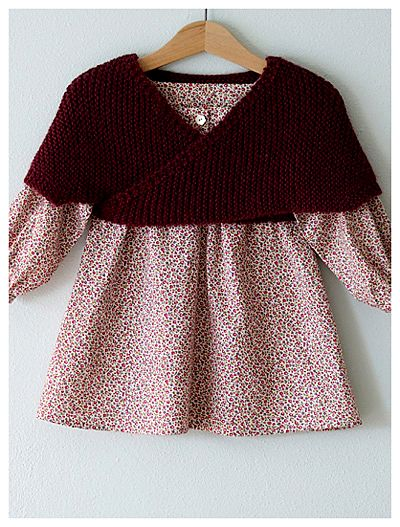 I love Alicia Paulson. This little sweater is called--!*Heartwarmer*!