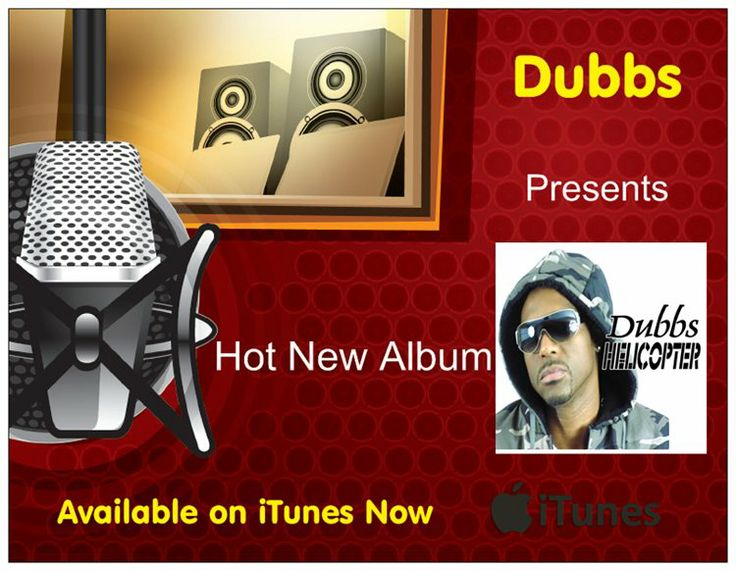Check out the hot new album Helicopter by Dubbs out on iTunes now https://itunes.apple.com/us/album/helicopter/id782523901