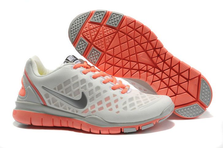Xhzw5I4S Buy Discount Nike Free Tr Fit Light Grey Orange Women Shoes