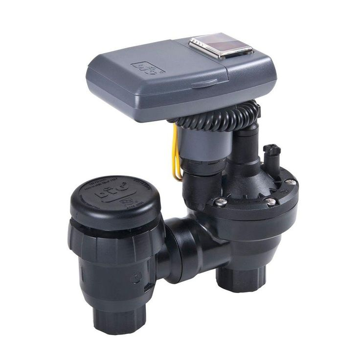 DIG Solar Powered Irrigation Timer with Anti-Siphon Valve