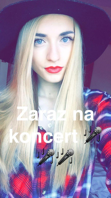 #me #polishgirl #girl #blonde #singer #snapchat