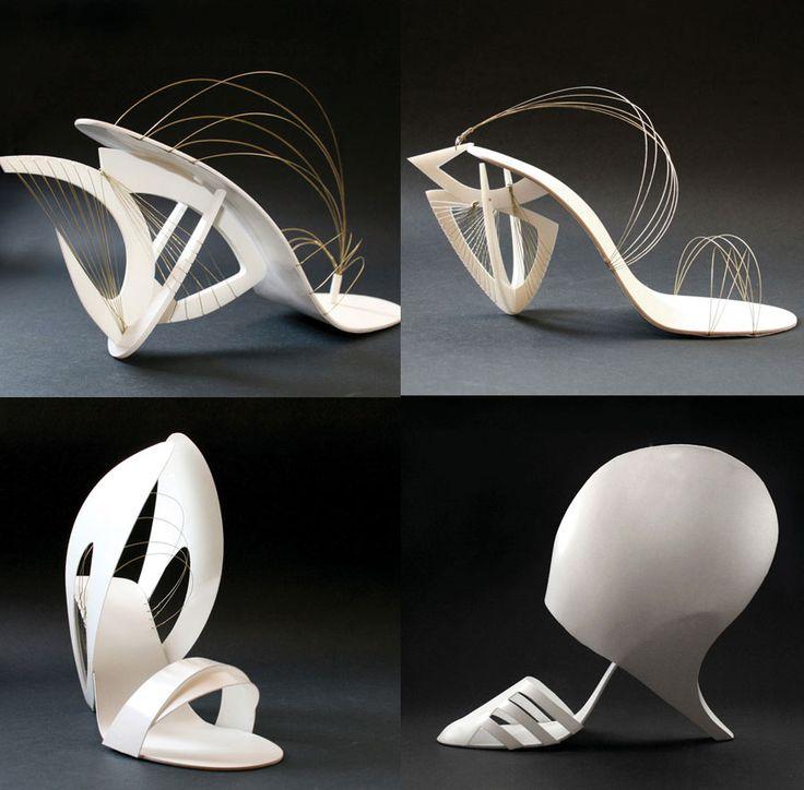 Constructivisme zie je ook terug in mode, in dit geval in schoenen.