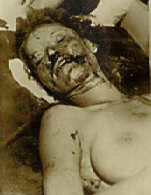 Bonnie Parker's Death Photo