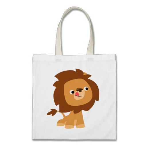 cute greedy cartoon lion bag