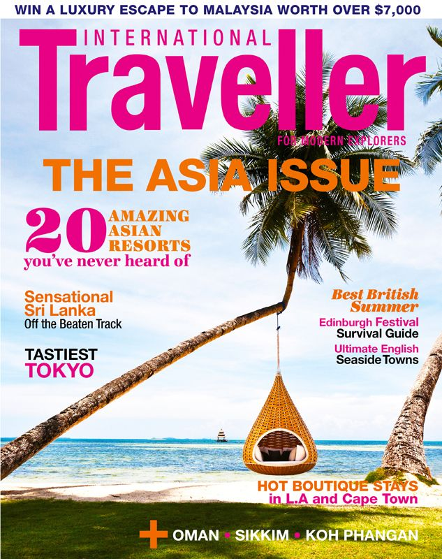 Issue 5 of International Traveller magazine, featuring the 20 amazing Asian resorts you've never heard of