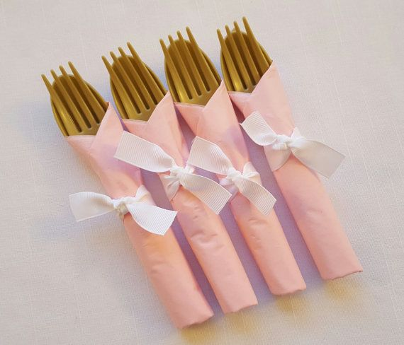 Princess Pink & Gold 3 Piece Silverware Set by ImagineCelebrations