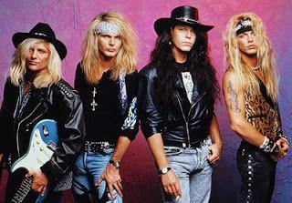 Poison | Bret Michaels, Rikki Rockett, Bobbi Dall, CC DeVille.