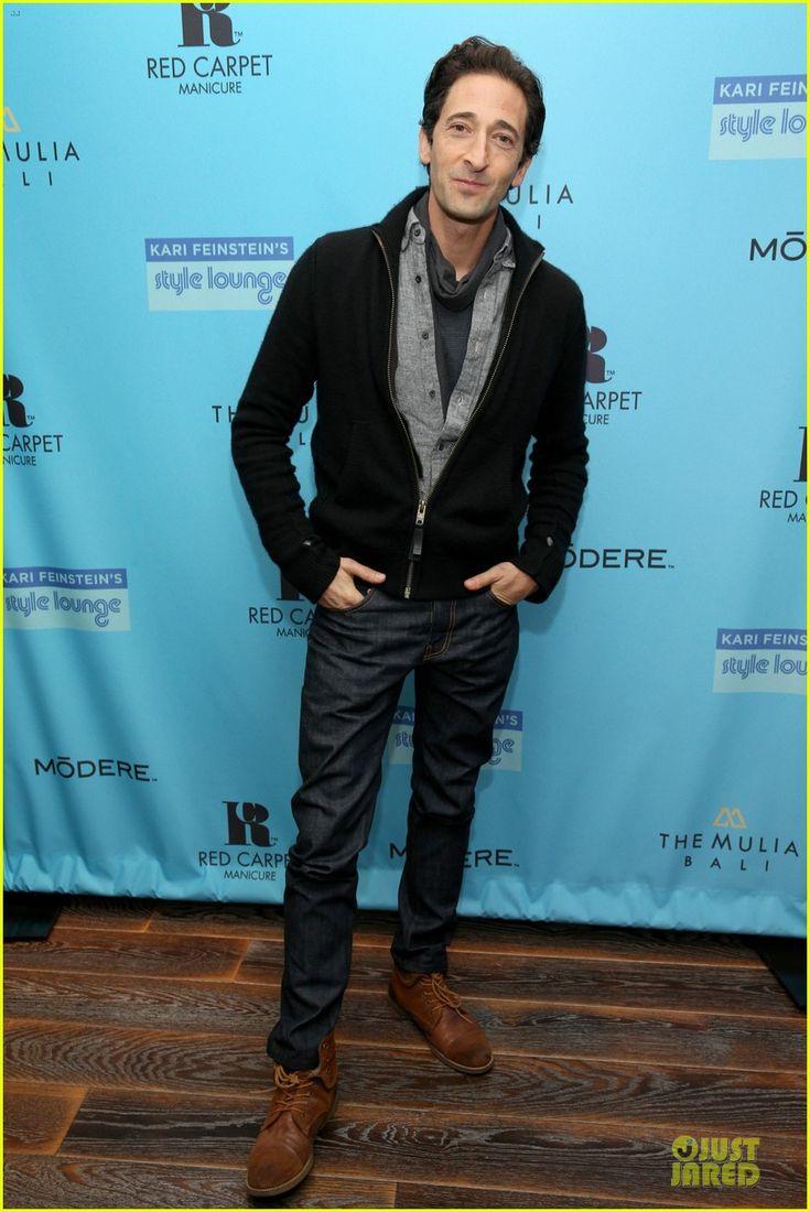 Adrien Brody: Kari Feinstein's Pre-Oscars Style Lounge with #Modere.