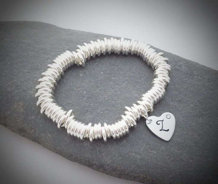 Just one of lots of bracelets for bride and bridesmaid