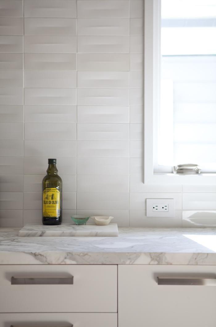 Remodelista, Medium Plenty, Oakland kitchen, Calacatta marble counter, Heath Ceramic dimensional tiles