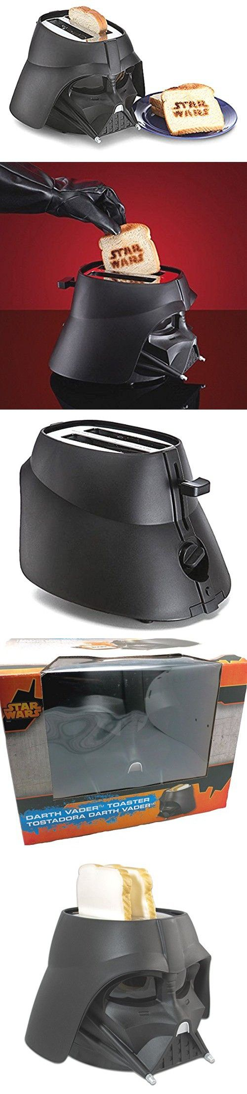 2 Slice Darth Vader Toaster, with Extra Wide Slots