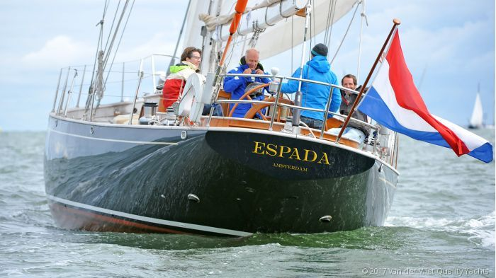 Hoek TC64 Classic Sloop | This timeless, comfortable and beautiful classic styled sailing yacht is ideal for both cruising and successful regatta sailing. She cruised and raced successfully both in Northern European and Caribbean waters. #dutch #yacht #sailing #hoek #yachtsnl #regatta #cruising http://yachts.nl/yachts-for-sale/grp-composite-sailing-yacht/hoek-1950-tc64-sold-klaas-bood-dorr