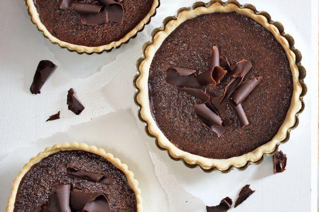 Čokoládové minikoláčky