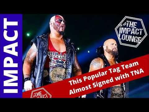 This Popular Tag Team Almost Signed with TNA