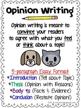 179 best images about Writing-opinion on Pinterest | Paragraph ...