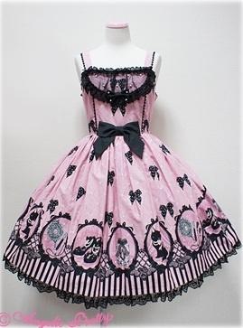 Angelic Pretty Cinema Doll JSK (Pink or Purple)
