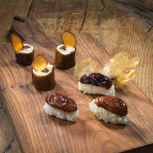 Le sushi aux oruneaux d'Agen