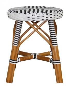 LEXI RATTAN STOOL. A Block and Chisel Product.
