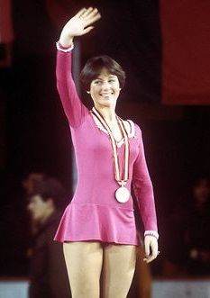 Dorothy Hamill won the gold metal in skating at the 1976 Olympics at Innsbruck, Austria