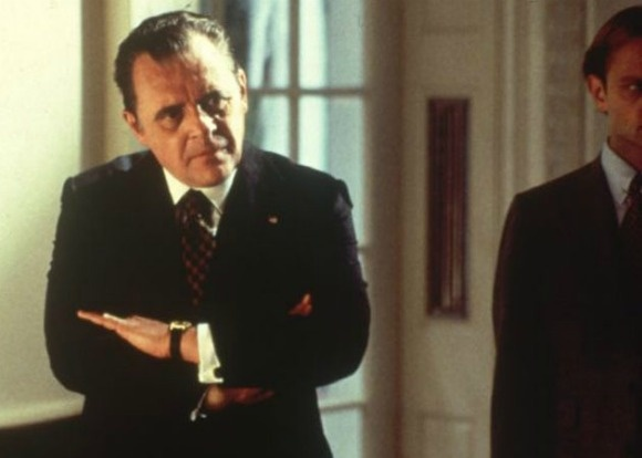"""Anthony Hopkins played Pres. Richard Nixon, in a movie called """"Nixon,"""" way back in 1995 which was directed by Oliver Stone"""