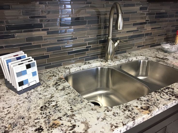 Kitchen Sinks Ottawa 10 best our showroom images on pinterest ottawa showroom and tiles close up of our showroom kitchen with granite countertop and brand new sink and faucet workwithnaturefo