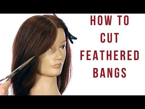 Feathered Layers Haircut Tutorial How To Cut Feathered Bangs