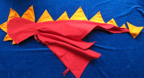 Dragon/ dinosaur cape or costume  red with by StarLilyAndClover