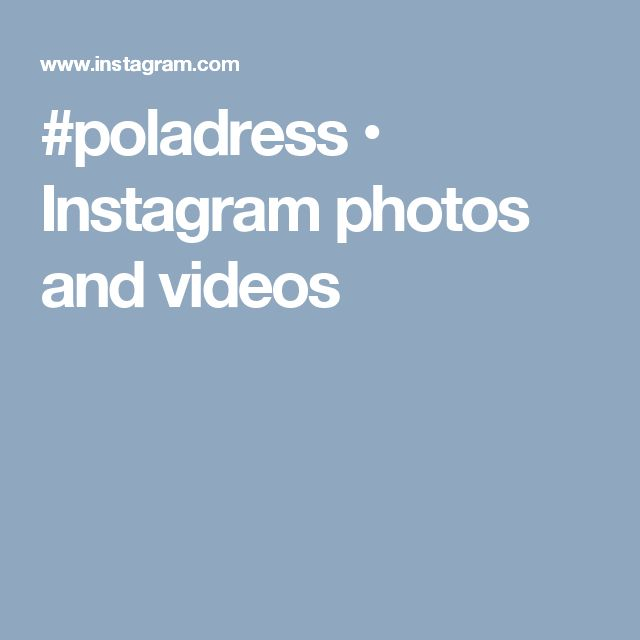 #poladress • Instagram photos and videos