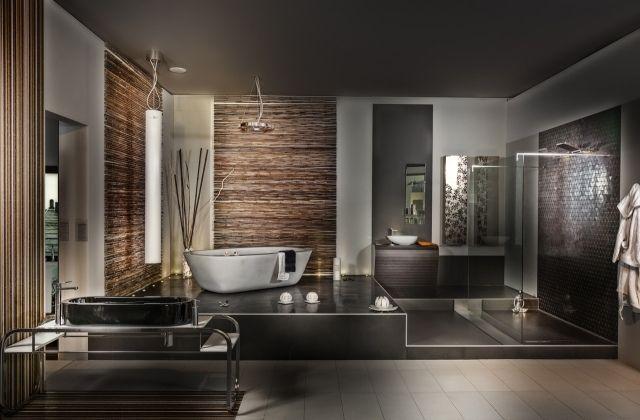 Salle De Bain Marron Et Gris : intérieur design salle de bain ... www.oacloud.net640 × 420Buscar por imágenes Salle de bain marron et gris : ... mural marron et blanc et des