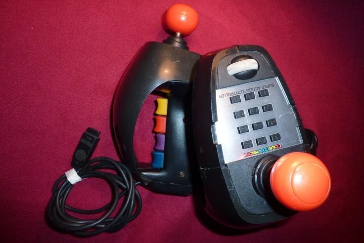 Joystick Control Coleco Vision Original Unico En M L !!