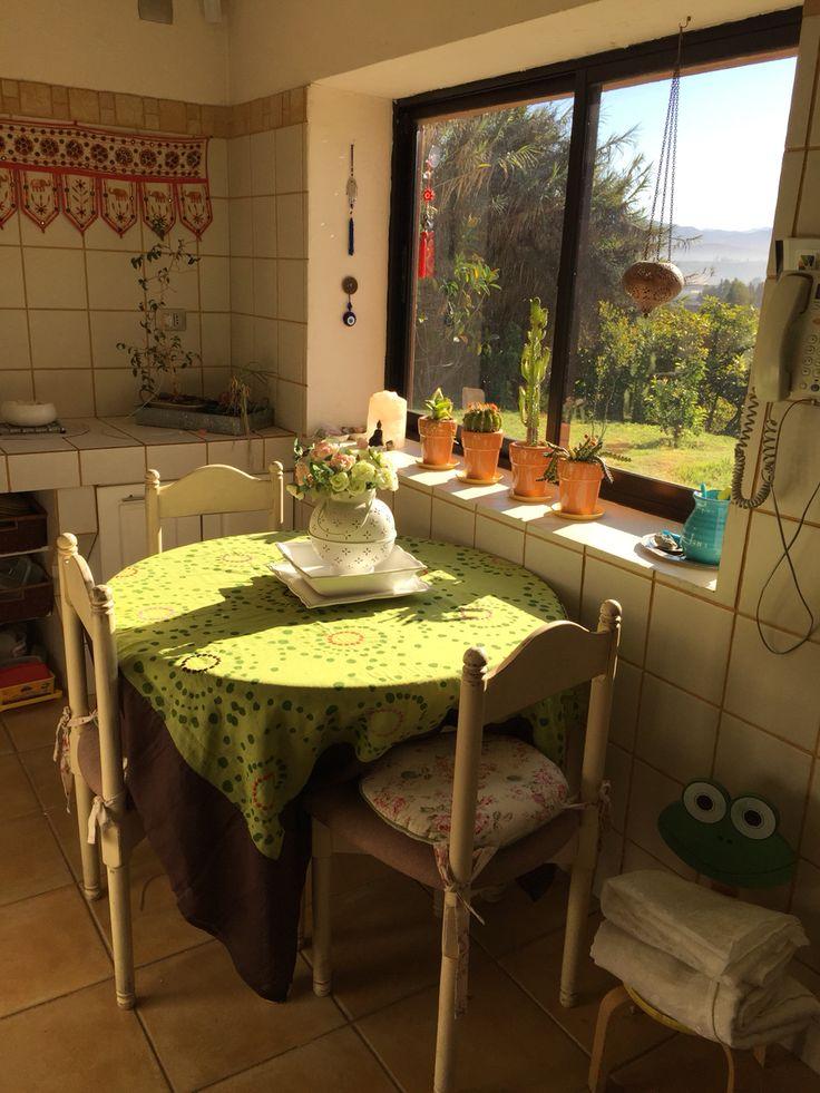 Vista al jardín de sala de cocina 2