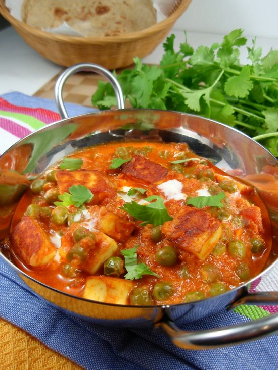 Mutter Paneer | Food | Pinterest